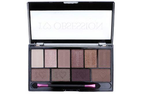 Makeup Revolution I ♥ Makeup I ♥ Obsession Palette paleta očních stínů (Pure Cult) 17 g Oční stíny