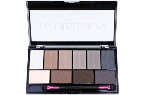 Makeup Revolution I ♥ Makeup I ♥ Obsession Palette paleta očních stínů (Born To Die) 17 g Oční stíny