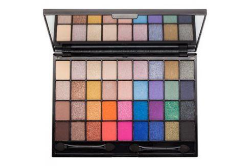 Makeup Revolution I ♥ Makeup Makeup Geek paleta očních stínů se zrcátkem a aplikátorem  28 g Oči
