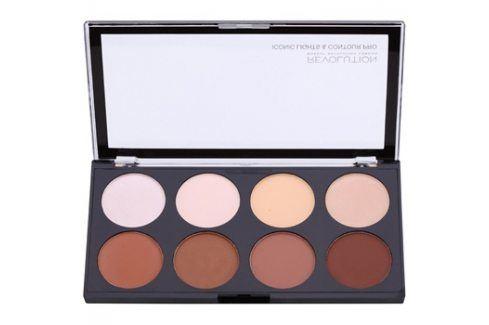 Makeup Revolution Iconic Lights and Countour Pro paleta na kontury obličeje  13 g Kontury obličeje