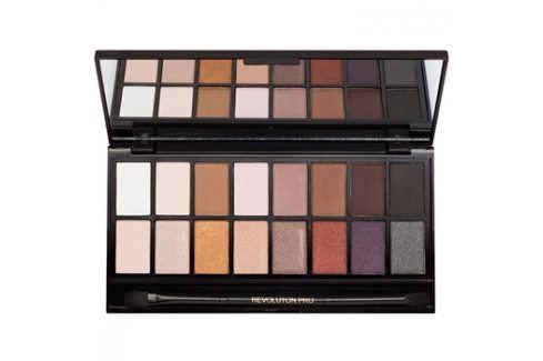 Makeup Revolution Iconic Pro 1 paleta očních stínů se zrcátkem a aplikátorem  16 g Oči