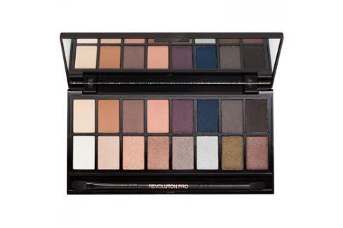 Makeup Revolution Iconic Pro 2 paleta očních stínů se zrcátkem a aplikátorem  16 g Oči