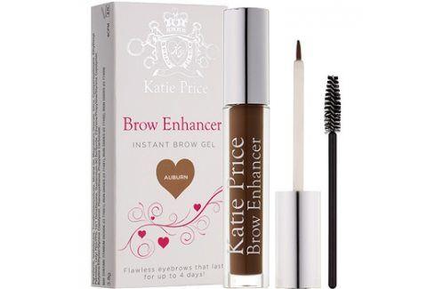 Makeup Revolution Katie Price fixační gel na obočí odstín Auburn 3,8 g Tužky na obočí