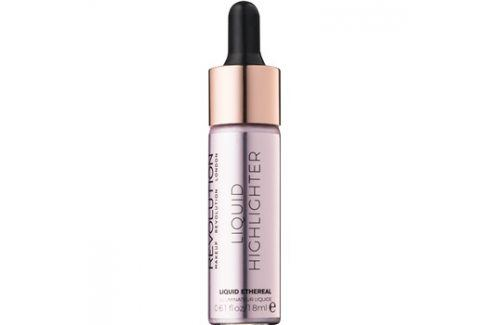 Makeup Revolution Liquid Highlighter tekutý rozjasňovač odstín Liquid Ethereal 18 ml Rozjasňovače