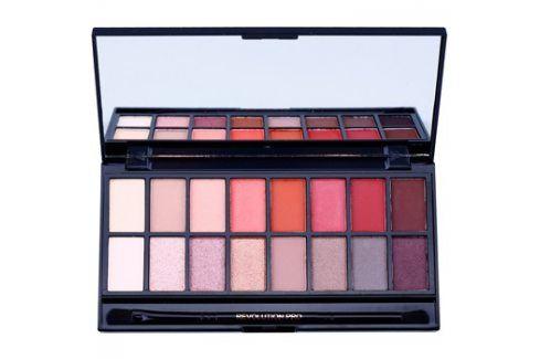 Makeup Revolution New-Trals vs Neutrals paleta očních stínů se zrcátkem a aplikátorem  16 g Oční stíny