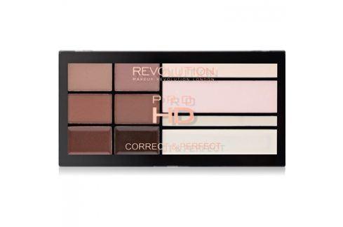 Makeup Revolution Pro HD Brows paleta pro líčení obočí  20,5 g Multifunkční paletky