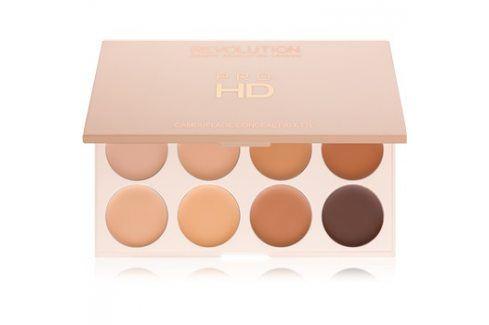 Makeup Revolution Pro HD Camouflage paleta korektorů odstín Medium Dark 10 g Korektory