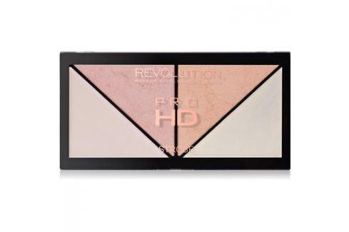 Makeup Revolution Pro HD Strobe Revolution paleta rozjasňovačů  14 g Tvářenky