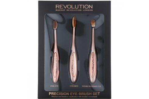 Makeup Revolution Pro Precision Brush sada štětců na oči  3 ks Sady štětců na líčení