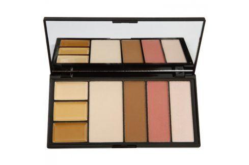 Makeup Revolution Protection paletka pro celou tvář odstín Medium 19 g Multifunkční paletky