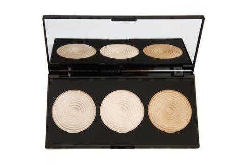 Makeup Revolution Radiance paleta rozjasňujících pudrů  15 g Pudry