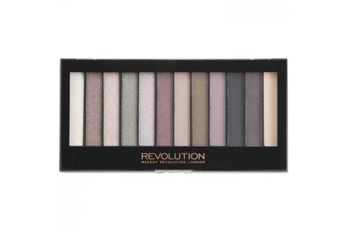 Makeup Revolution Romantic Smoked paleta očních stínů  14 g Oční stíny
