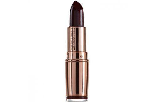 Makeup Revolution Rose Gold hydratační rtěnka odstín Diamond Life 4 g Rtěnky