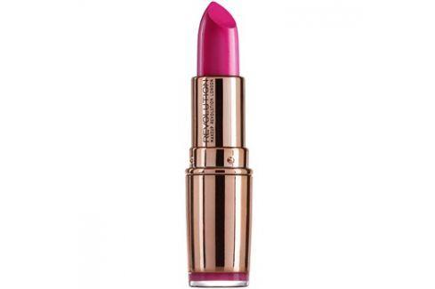 Makeup Revolution Rose Gold hydratační rtěnka odstín Girls Best Friend 4 g Rtěnky