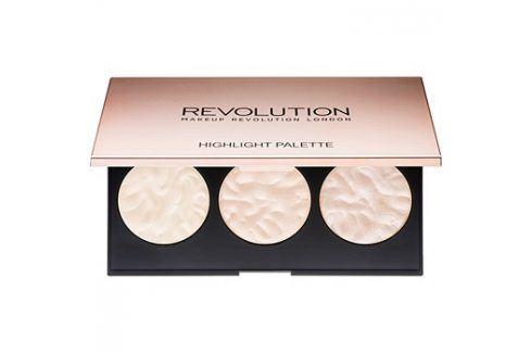 Makeup Revolution Rose Lights paleta rozjasňovačů  11,5 g Tvářenky