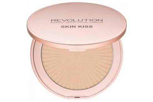 Makeup Revolution Skin Kiss rozjasňovač odstín Golden Kiss 14 g Rozjasňovače