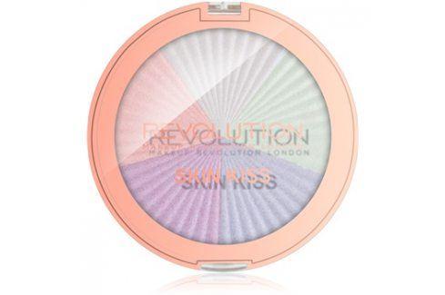 Makeup Revolution Skin Kiss rozjasňovač na oči a tvář odstín Dream Kiss 14 g Rozjasňovače