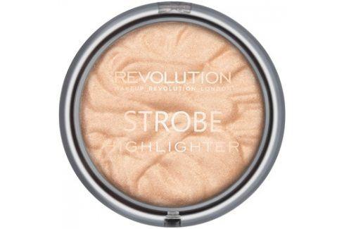 Makeup Revolution Strobe rozjasňovač odstín Gold Addict 7,5 g Rozjasňovače