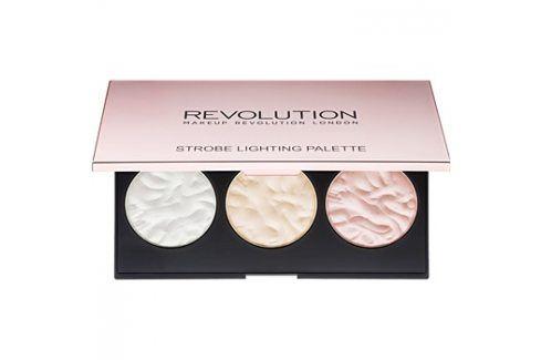 Makeup Revolution Strobe Lighting paleta rozjasňovačů  11,5 g Tvářenky