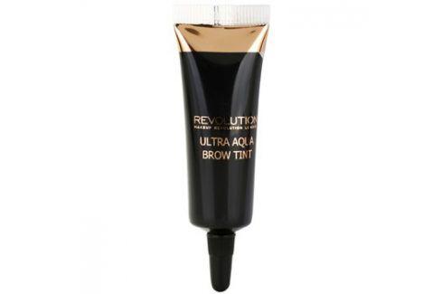 Makeup Revolution Ultra Aqua tónovací barva na obočí odstín Dark  10 g Tužky na obočí