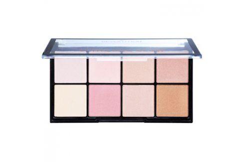 Makeup Revolution Ultra Pro Glow paleta rozjasňovačů  20 g Tvářenky