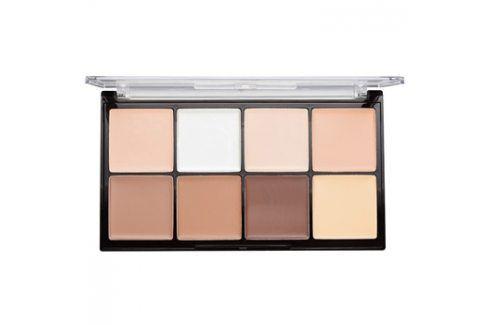 Makeup Revolution Ultra Pro HD Fair paleta na kontury obličeje krémová  20 g Kontury obličeje