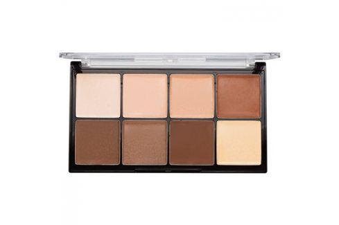Makeup Revolution Ultra Pro HD Light Medium paleta na kontury obličeje krémová  20 g Kontury obličeje