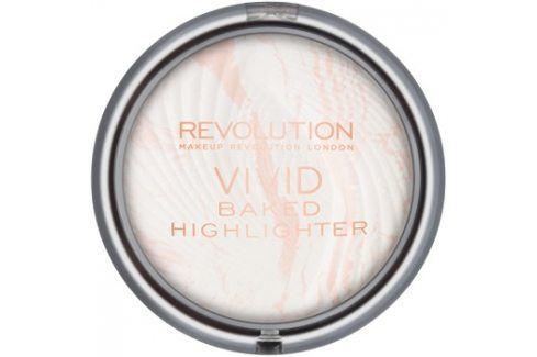 Makeup Revolution Vivid Baked zapečený rozjasňující pudr odstín Matte Lights 7,5 g Rozjasňovače