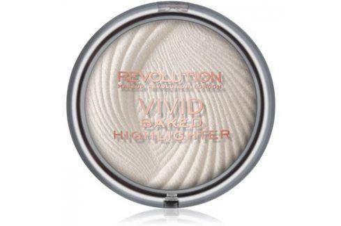 Makeup Revolution Vivid Baked zapečený rozjasňující pudr odstín Golden Lights 7,5 g Rozjasňovače