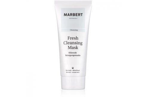 Marbert Fresh Cleansing čisticí jílová pleťová maska pro normální až smíšenou pleť  100 ml Pleťové masky