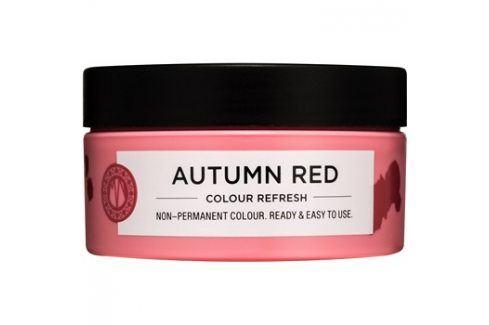 Maria Nila Colour Refresh Autumn Red jemná vyživující maska bez permanentních barevných pigmentů výdrž 4-10 umytí 6.60 100 ml Barvy na vlasy