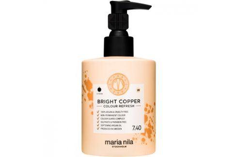 Maria Nila Colour Refresh Bright Copper jemná vyživující maska bez permanentních barevných pigmentů výdrž 4-10 umytí 7.40 300 ml Barvy na vlasy