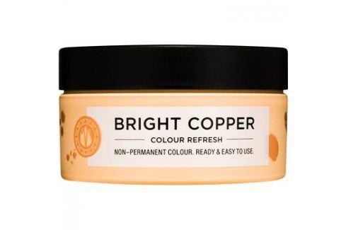 Maria Nila Colour Refresh Bright Copper jemná vyživující maska bez permanentních barevných pigmentů výdrž 4-10 umytí 7.40 100 ml Barvy na vlasy
