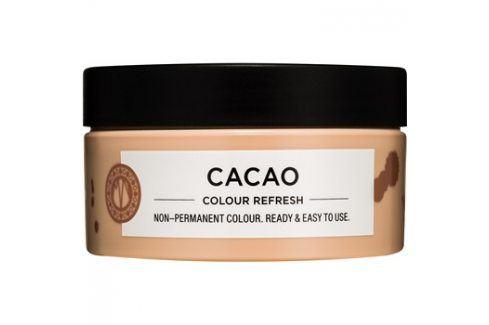 Maria Nila Colour Refresh Cacao jemná vyživující maska bez permanentních barevných pigmentů výdrž 4-10 umytí 6.00 100 ml Barvy na vlasy