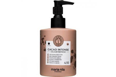 Maria Nila Colour Refresh Cacao Intense jemná vyživující maska bez permanentních barevných pigmentů výdrž 4-10 umytí 4.10 300 ml Barvy na vlasy