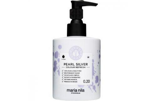 Maria Nila Colour Refresh Pearl Silver jemná vyživující maska bez permanentních barevných pigmentů výdrž 4-10 umytí 0.20 300 ml Barvy na vlasy