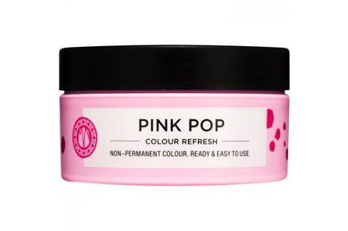 Maria Nila Colour Refresh Pink Pop jemná vyživující maska bez permanentních barevných pigmentů výdrž 4-10 umytí 0.06 100 ml Barvy na vlasy