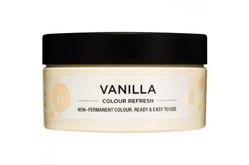 Maria Nila Colour Refresh Vanilla jemná vyživující maska bez permanentních barevných pigmentů výdrž 4-10 umytí 10.32 100 ml Barvy na vlasy