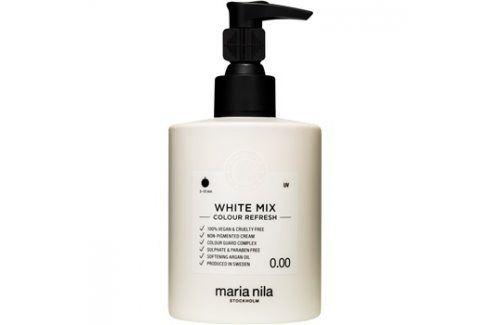 Maria Nila Colour Refresh White Mix vyživující maska bez barevných pigmentů k dotvoření pastelových odstínů výdrž 4-10 umytí 0.00 300 ml Barvy na vlasy