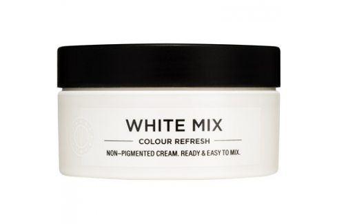 Maria Nila Colour Refresh White Mix vyživující maska bez barevných pigmentů k dotvoření pastelových odstínů výdrž 4-10 umytí 0.00 100 ml Barvy na vlasy