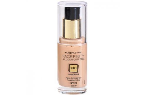 Max Factor Facefinity make-up 3 v 1 odstín 47 Nude  30 ml up