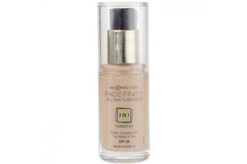 Max Factor Facefinity make-up 3 v 1 odstín 45 Warm Almond SPF20  30 ml up