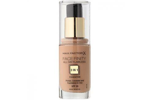 Max Factor Facefinity make-up 3 v 1 odstín 65 Rose Beige  30 ml up