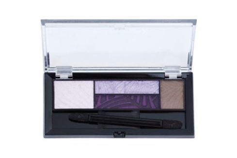 Max Factor Smokey Eye Drama Kit paleta očních stínů a stínů na obočí s aplikátorem odstín 04 Luxe Lilacs 1,8 g Oční stíny