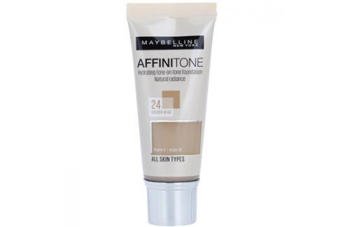 Maybelline Affinitone hydratační make-up odstín 24 Golden Beige 30 ml up