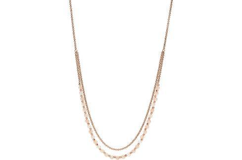 Fossil Bronzový náhrdelník s korálky JA6918791 Náhrdelníky